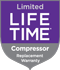 Whirlpool Limited Compressor Lifetime Warranty